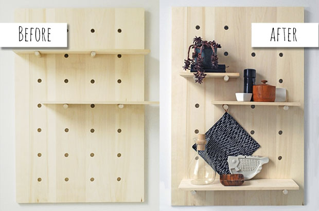 diy shelving system | 11 Easy DIY Shelves to Maximize a Small Space