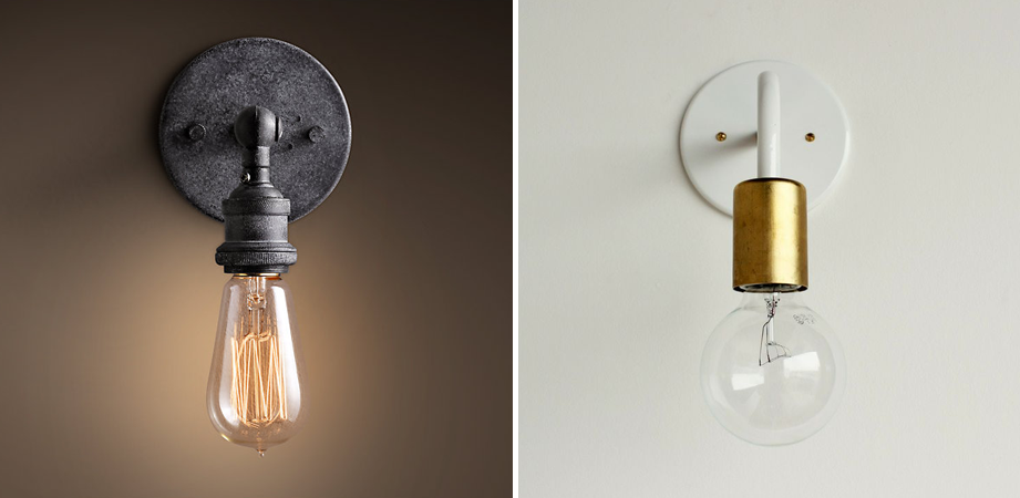 DIY Exposed Light Bulb