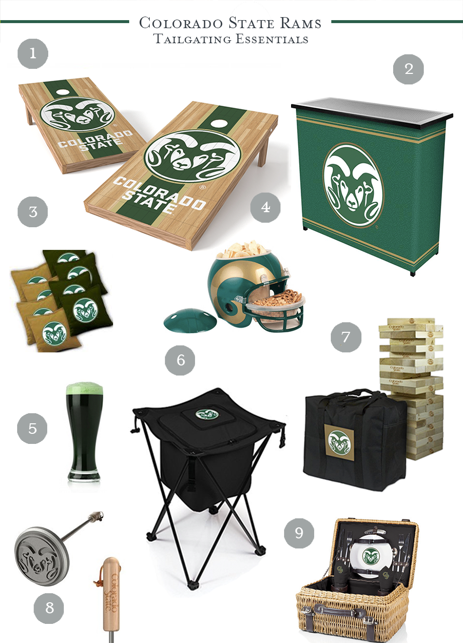 CSU Tailgating Essentials