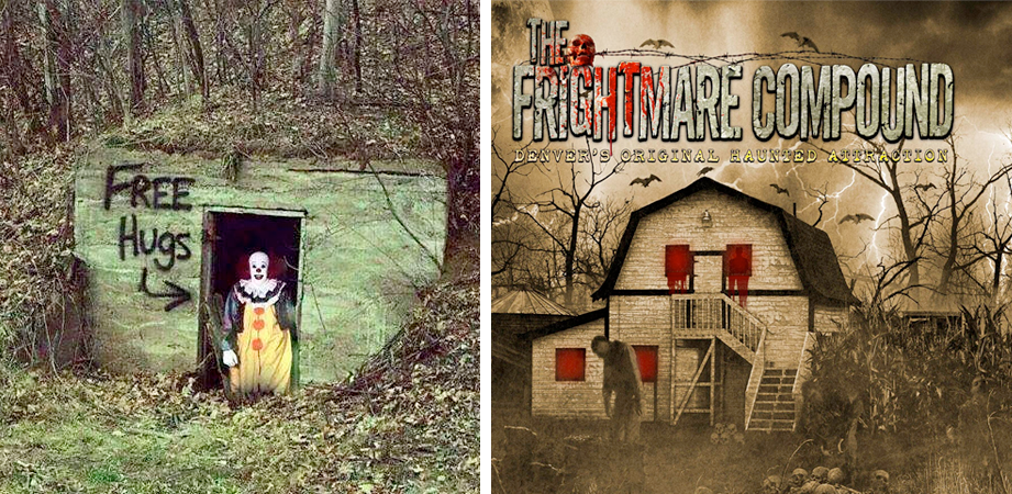 The haunted house frightmare pictures to pin on pinterest for Pinterest haunted house