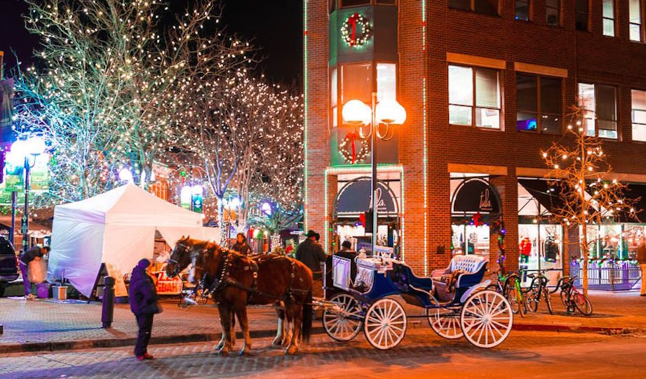 Downtown Fort Collins Santa Shopping Quest