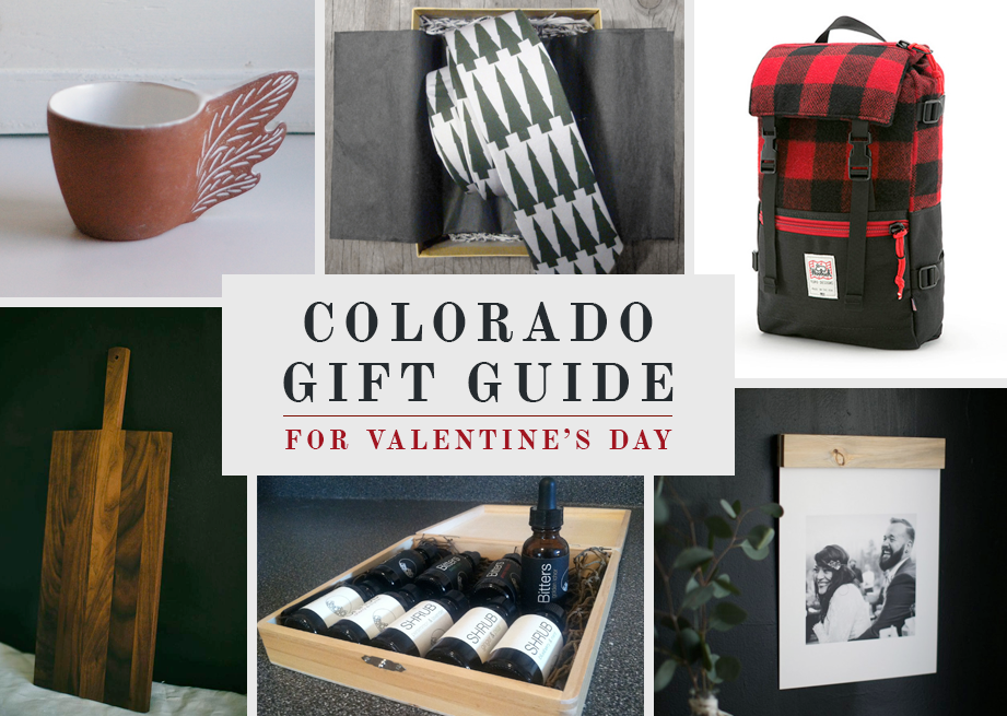 Valentines Day Gift Guide from Colorado Businesses