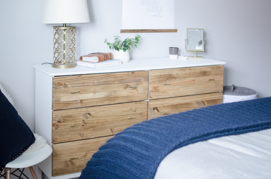 DIY Bedroom Dresser | Ikea Tarva Dresser Hack