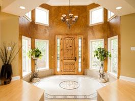 A beautiful Homes Entryway